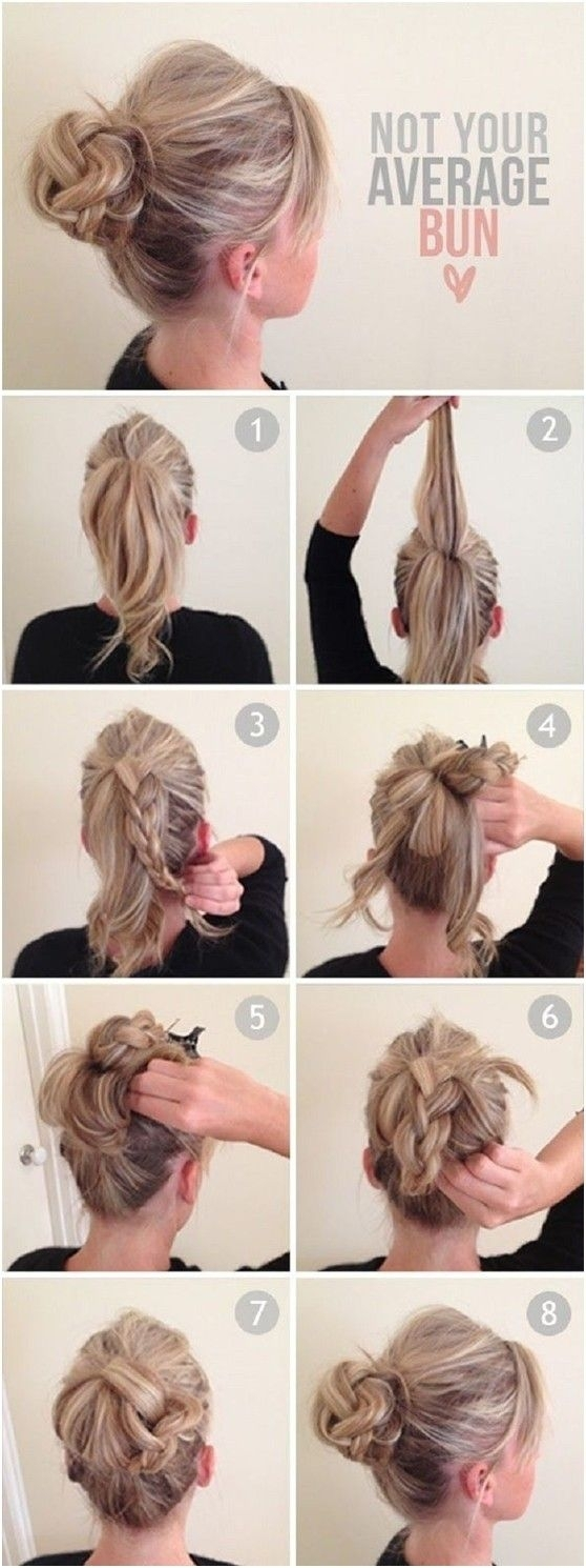 Fabulous A Collection Of 23 Super Chic Bun Hairstyle Tutorials Styles Weekly Short Hairstyles For Black Women Fulllsitofus