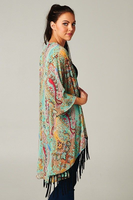 21 Fashionable Fall Paisley Looks