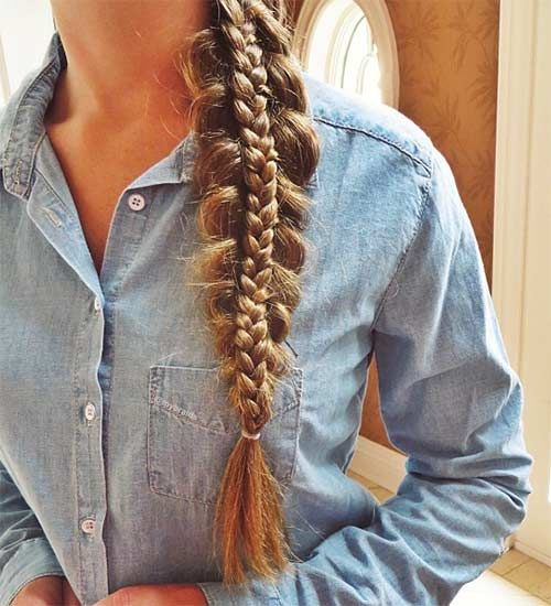 24 Gorgeously Creative Braided Hairstyles for Winter