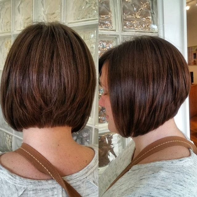 Astonishing 22 Graduated Bob Hairstyles You39Ll Want To Copy Now Styles Weekly Hairstyle Inspiration Daily Dogsangcom