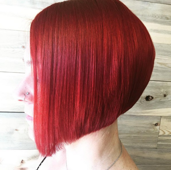 Stupendous 21 Eye Catching A Line Bob Hairstyles Styles Weekly Short Hairstyles For Black Women Fulllsitofus