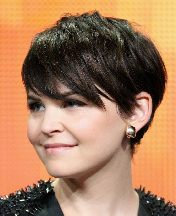 Short Pixie Cut For Round Face