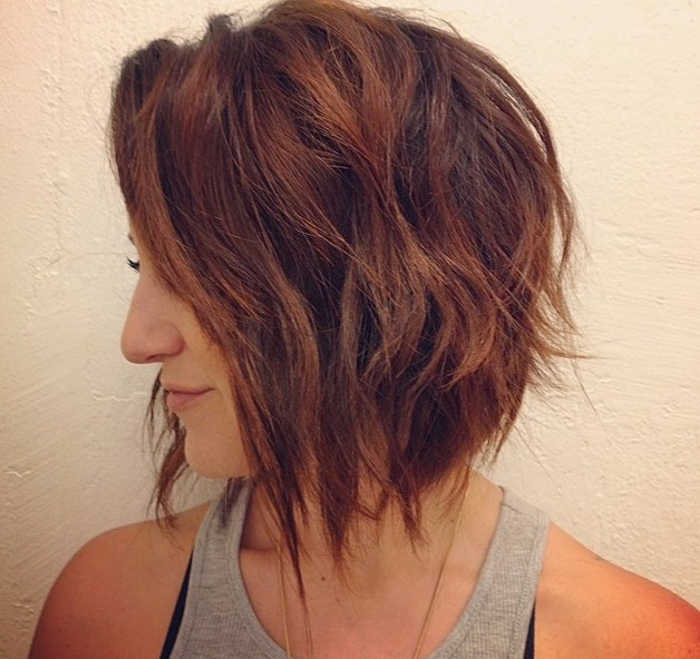 Gorgeous Graduated Bob Cut