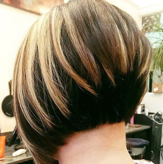 Awe Inspiring 22 Graduated Bob Hairstyles You39Ll Want To Copy Now Styles Weekly Hairstyles For Women Draintrainus