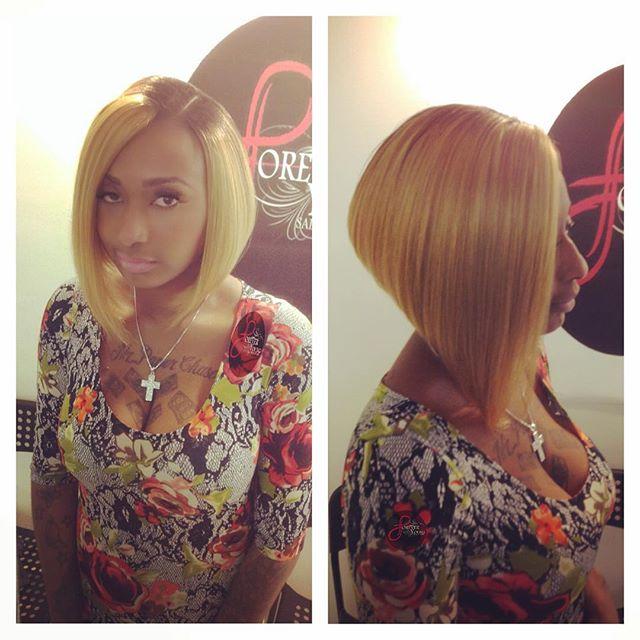 Tremendous 20 Trendy Bob Hairstyles For Black Women Styles Weekly Short Hairstyles For Black Women Fulllsitofus