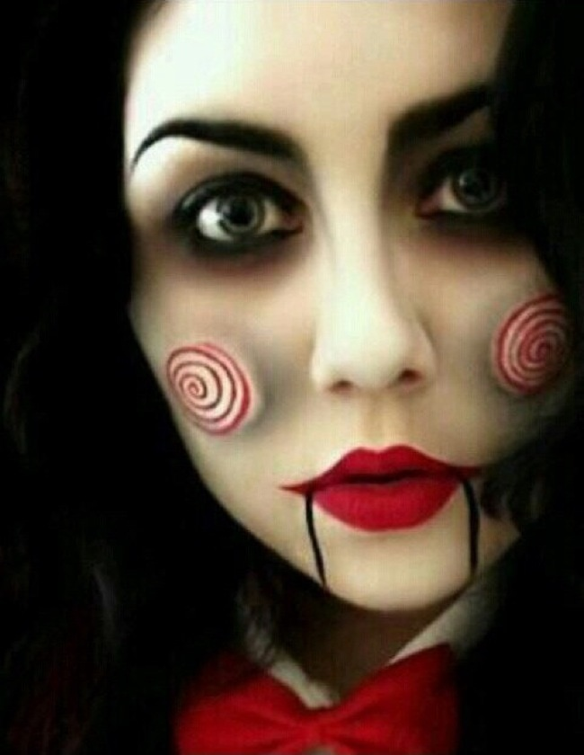 Creepy Halloween Makeup Ideas