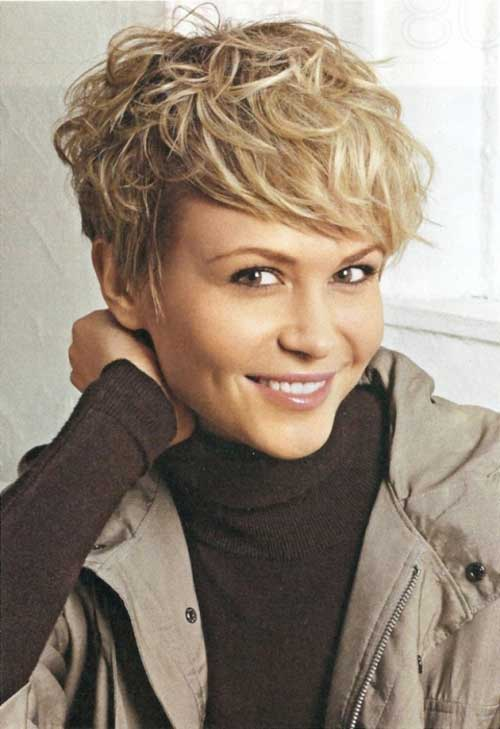Fine 20 Stylish Wavy Amp Curly Pixie Cuts For Short Hair Styles Weekly Hairstyles For Women Draintrainus