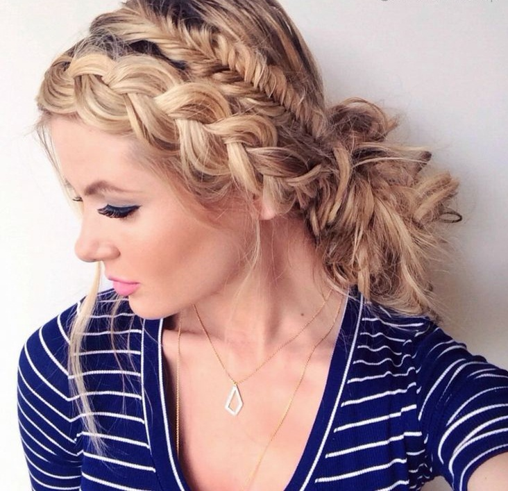 Stupendous 20 Beautiful Fishtail Braided Hairstyles Styles Weekly Short Hairstyles Gunalazisus