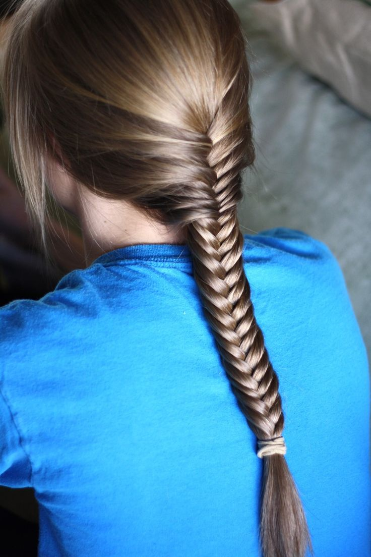 fishtail hair style 20 beautiful fishtail braided hairstyles styles weekly 1662
