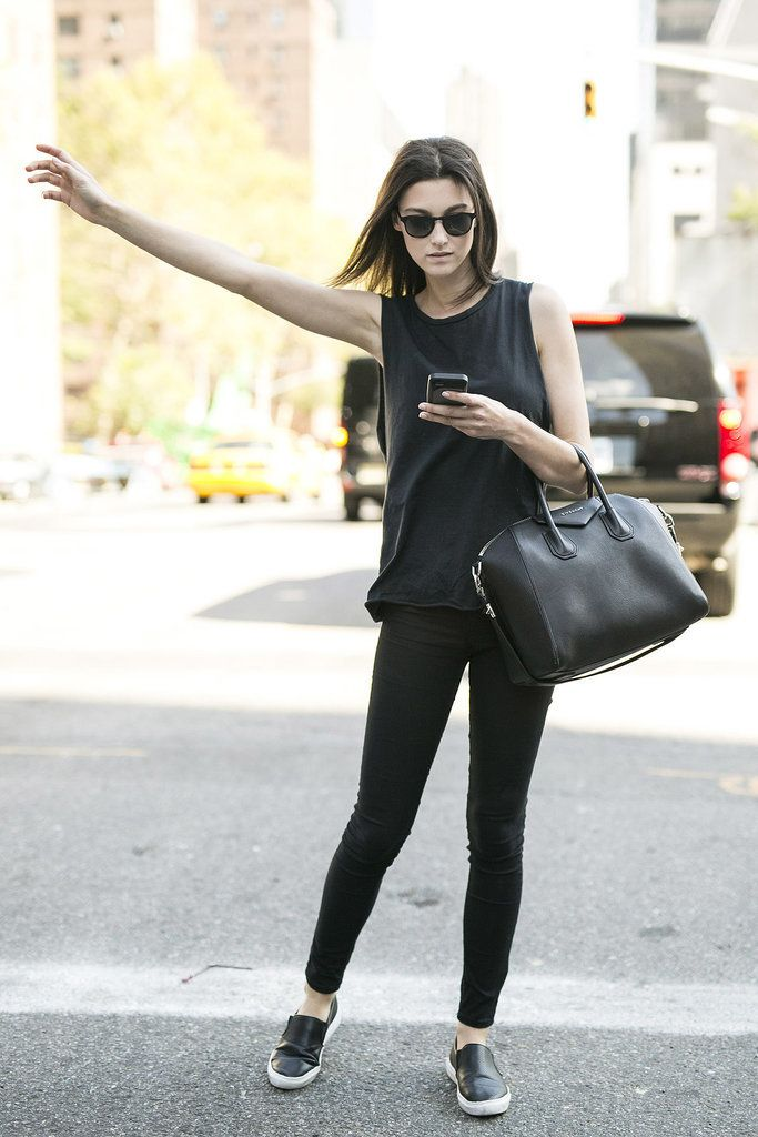 How to Make the 'All Black Look' Work for You
