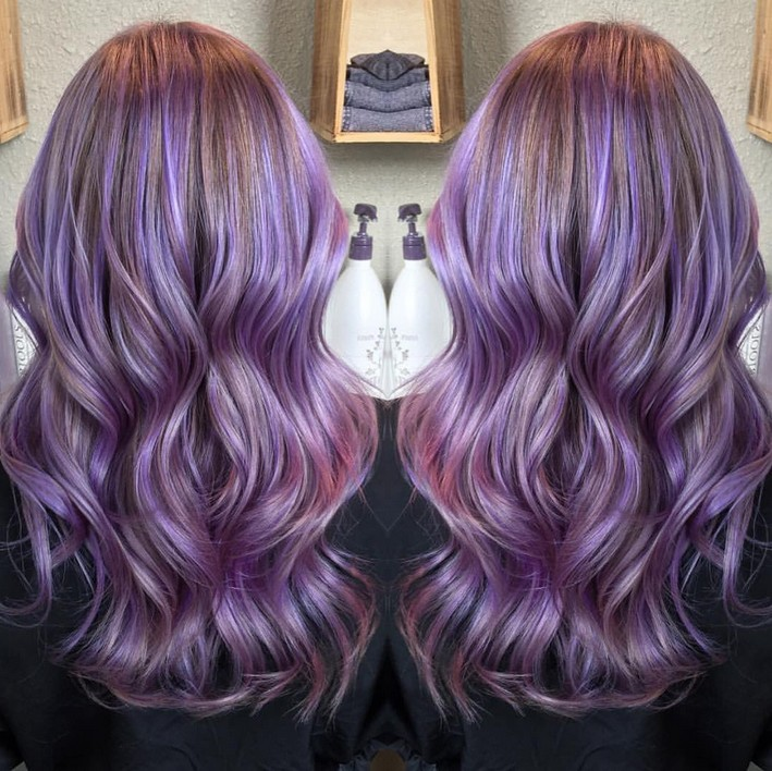 Hair Color Ideas 20 Gorgeous Pastel Purple Hairstyles Styles Weekly