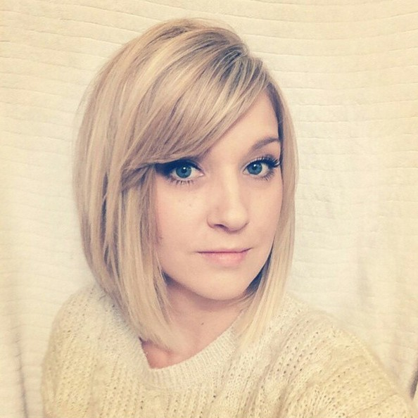 Cute haircut for long hair with side bangs