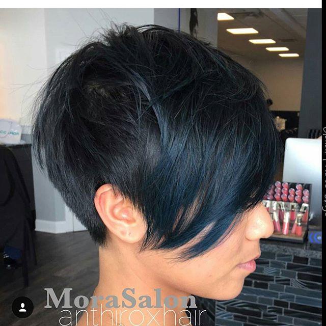 Groovy Back View Of Short Black Haircuts Best Hairstyles 2017 Short Hairstyles Gunalazisus