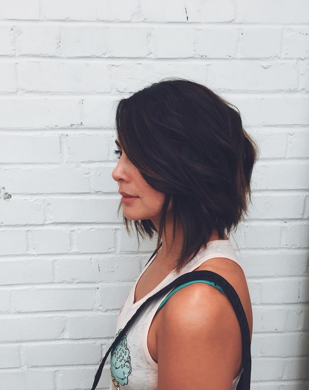Brilliant 22 Graduated Bob Hairstyles You39Ll Want To Copy Now Styles Weekly Hairstyles For Women Draintrainus