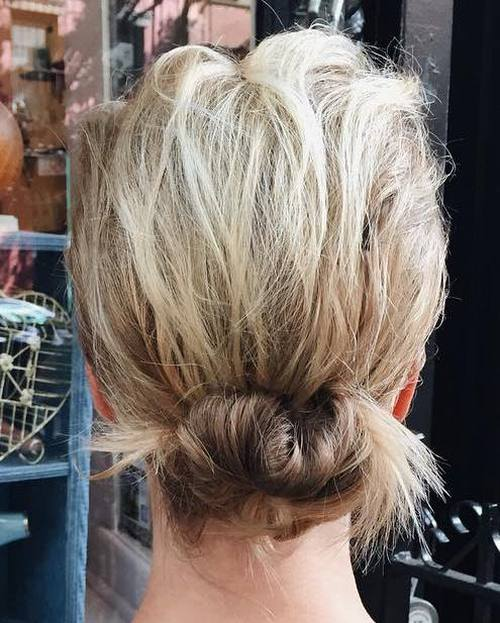 Effortless Lower Updo