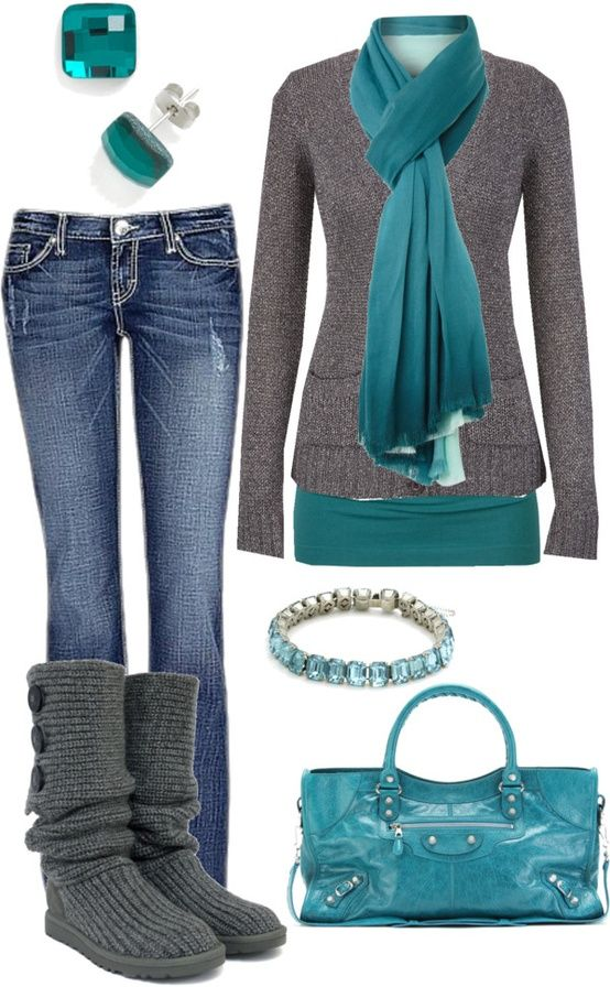 21 Different Fun Ways to Wear Your Jeans (This Winter)