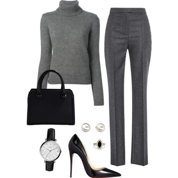 22 Appealing Winter Outfits for Work