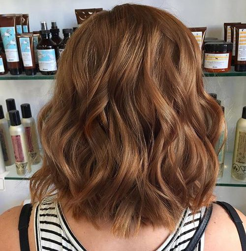 Chic Brown Hair Color