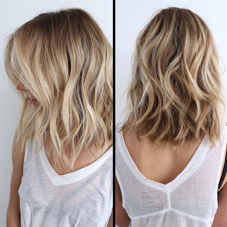 Back View Shoulder Length Layered Haircuts For Thick Hair 39