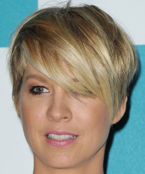 Cool Short Haircut with Side Bangs