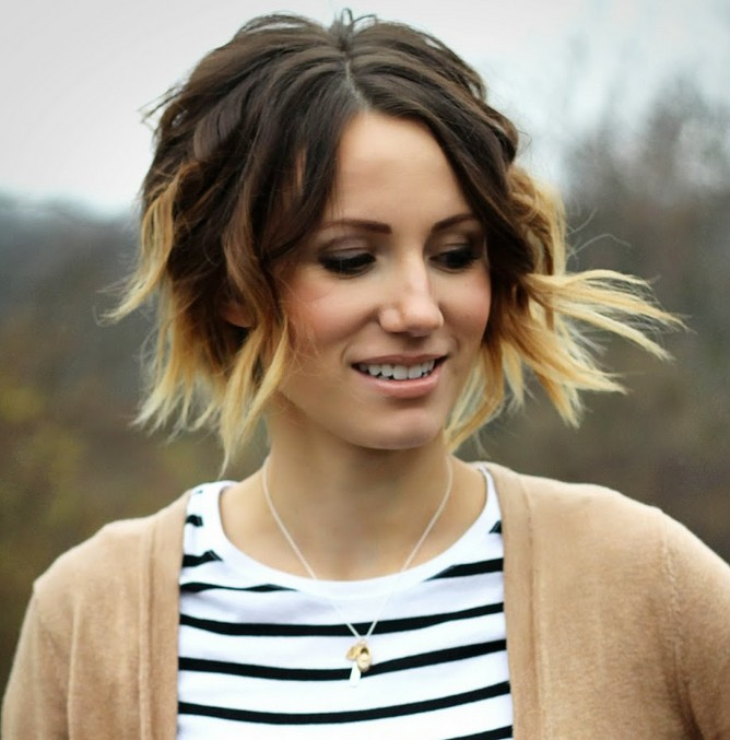 Phenomenal 22 Hottest Ombre Bob Hairstyles Latest Ombre Hair Color Ideas Short Hairstyles For Black Women Fulllsitofus
