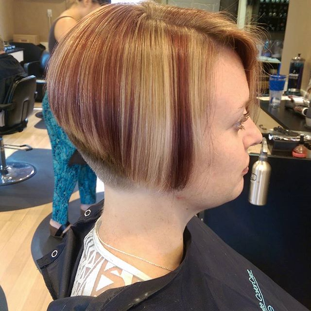 Admirable 21 Stacked Bob Hairstyles You39Ll Want To Copy Now Styles Weekly Hairstyle Inspiration Daily Dogsangcom