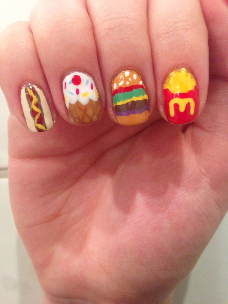 Delicious Food Nails | Styles Weekly
