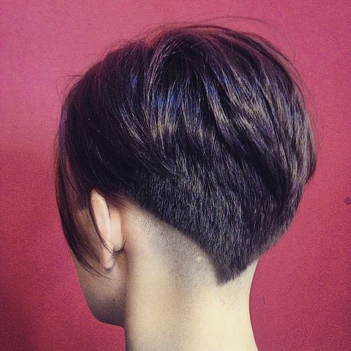 Edgy Undercut Hairstyle for Thick Hair