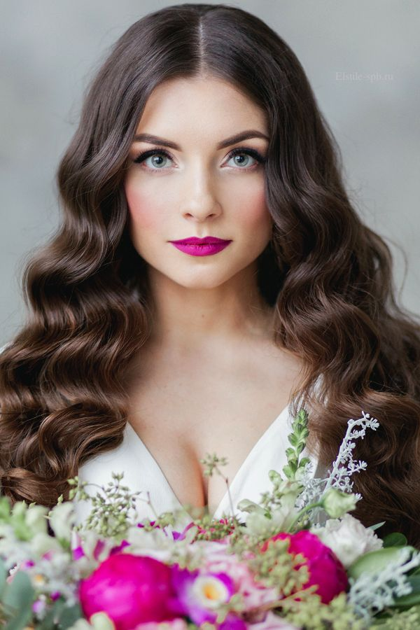 Effortless Loose Waves for Brides