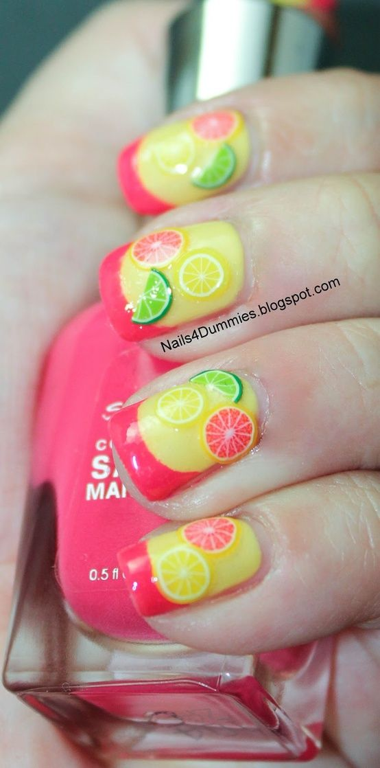 Fresh Fruit Nail Design