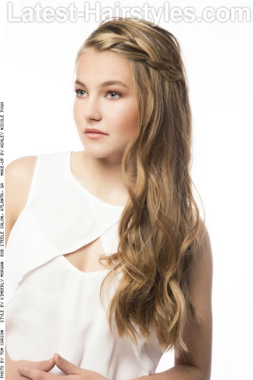 Stunning Long Layered Hairstyle