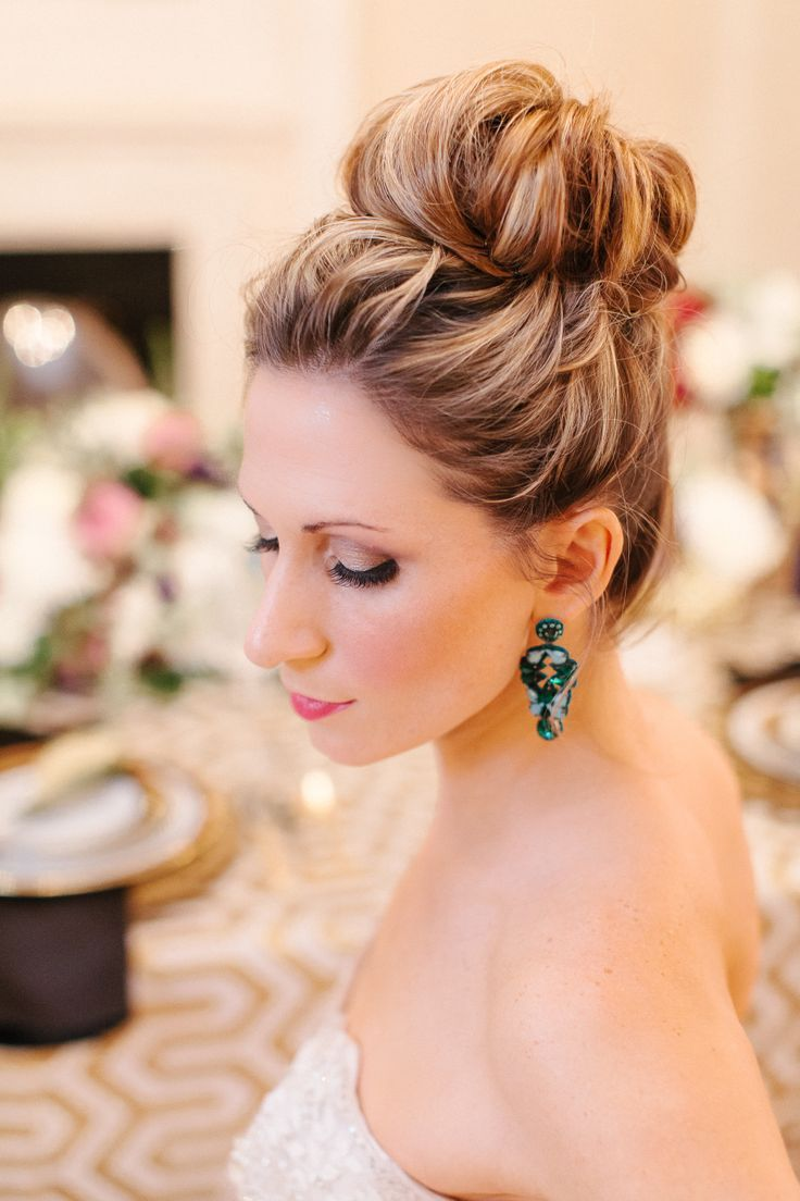 Pretty Ballerina Bun for Brides