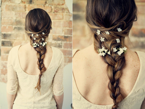 Romantic Braided Prom Hairstyle