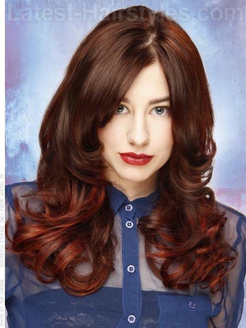 Face Framing Curly Hair
