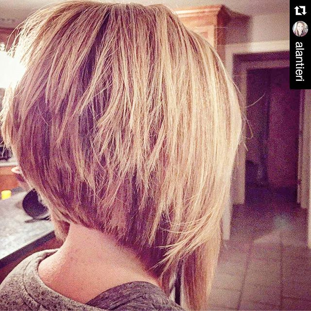 Long Stacked Bob With Layers 21 stacked bob hairstyles you'll want to ...