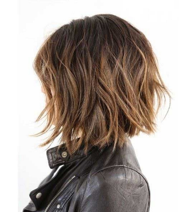 a line haircut for curly hair 20 delightful wavy curly bob hairstyles for 2016 styles 3331