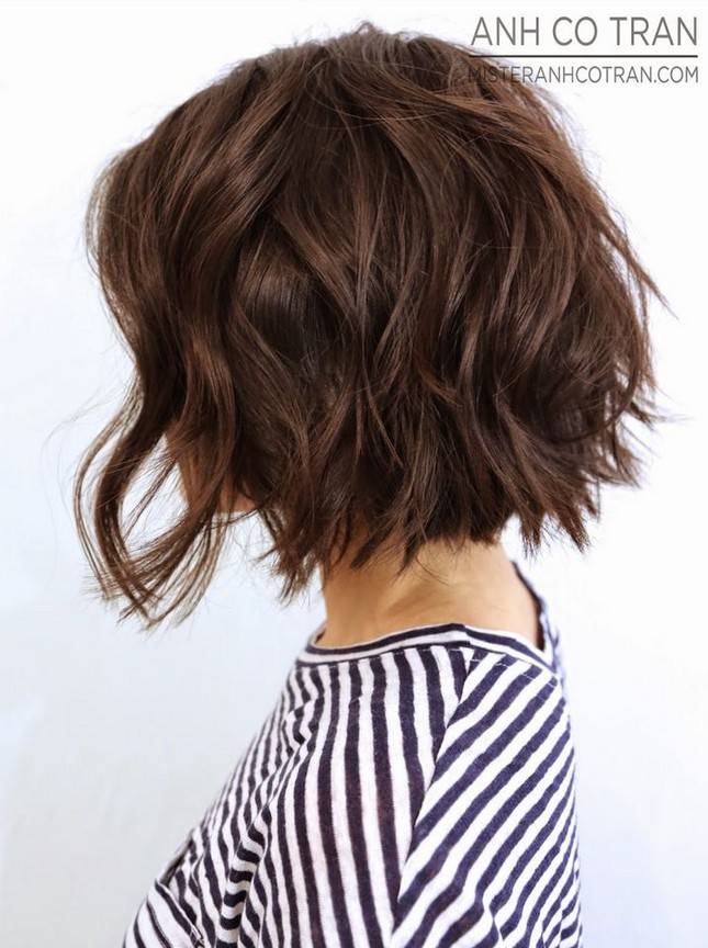 Swell 20 Delightful Wavy Curly Bob Hairstyles For Women Styles Weekly Short Hairstyles Gunalazisus