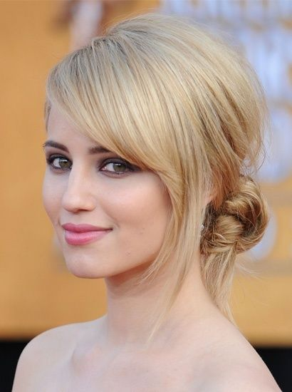 Short Hair Updo Hairstyle
