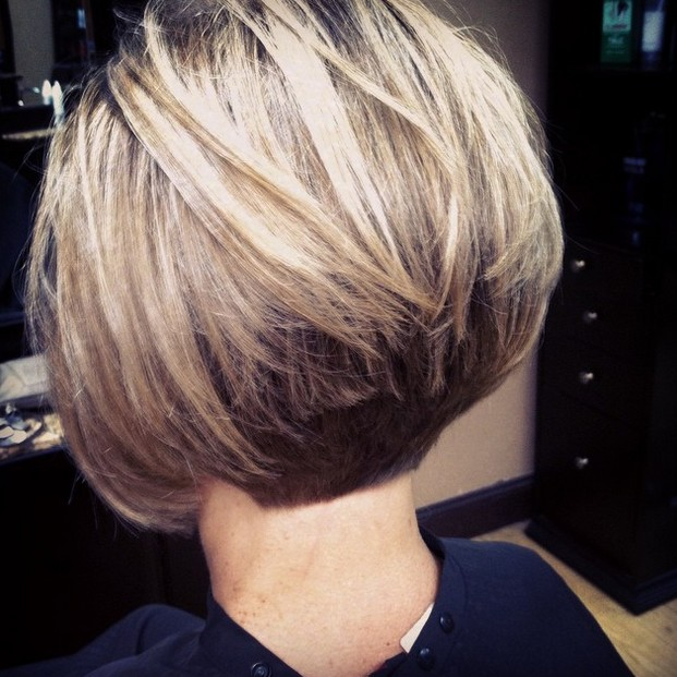 stacked bob haircut back view 21 stacked bob hairstyles you ll want to copy now styles 6123