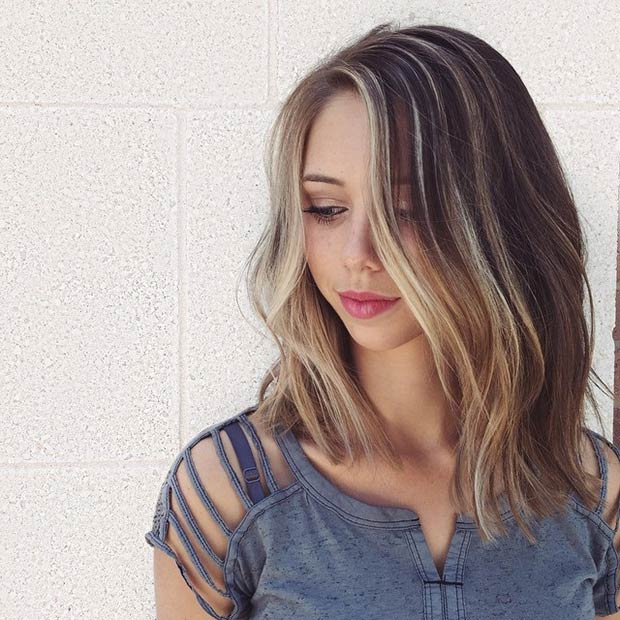 Astounding 17 Perfect Long Bob Hairstyles For Women Easy Lob Haircuts Hairstyle Inspiration Daily Dogsangcom