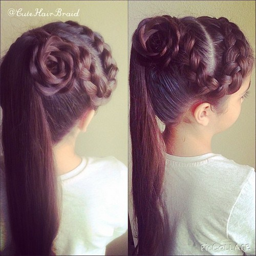 Cute Braided Hairstyles for Girls