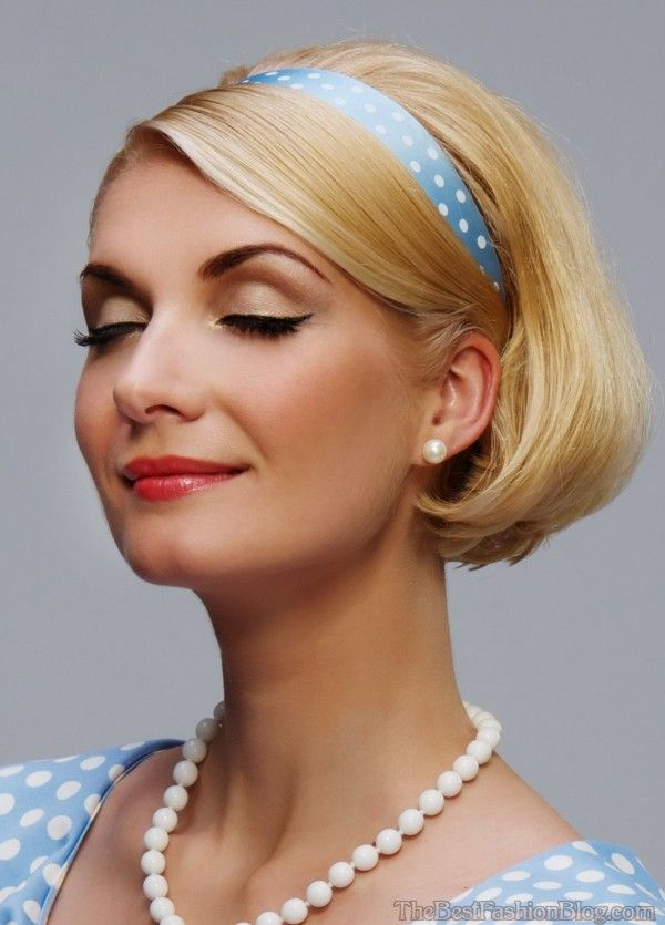 21 Splendid Retro Chic Hairstyles You Must Love | Styles Weekly