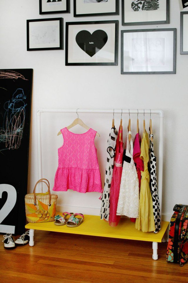 DIY Clothes Racks