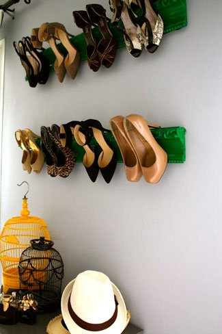 DIY Shoes Racks