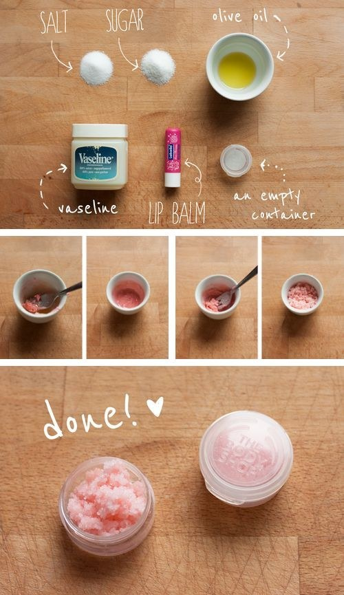 DIY Lips Exfoliate Mixture