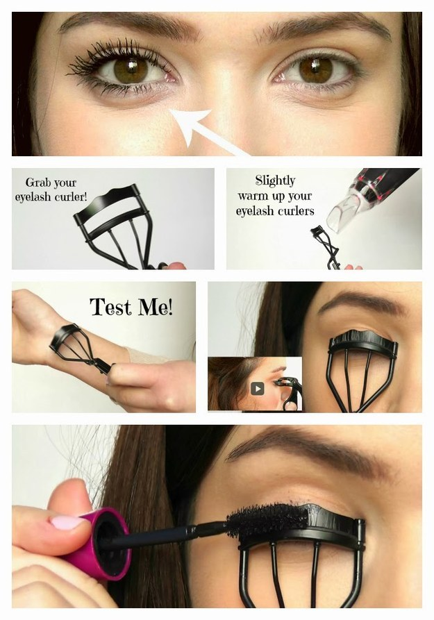 How to Make Your Lashes Curly