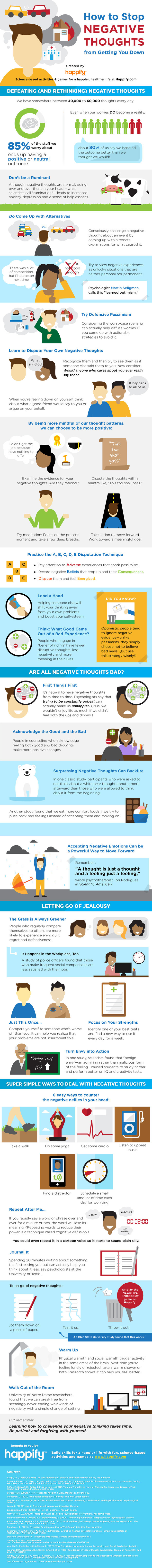 Ways to Stop Negative Thoughts