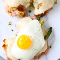Croque Madame with An Egg