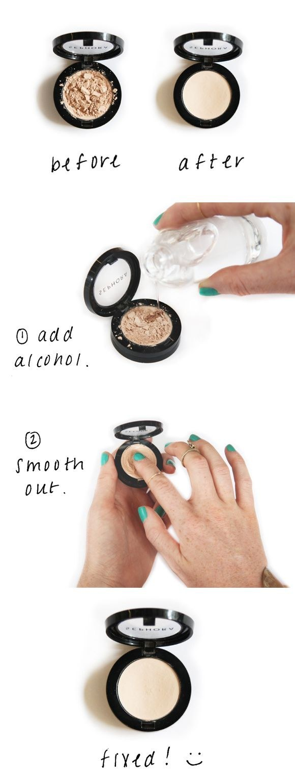 How to Save Your Cracked Powder