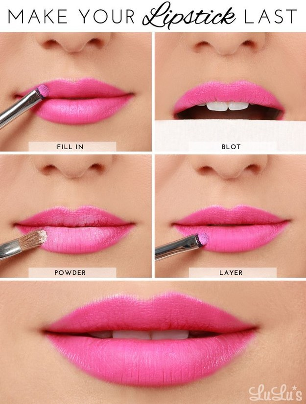 How to Make Your Lipsticks Last Longer